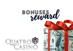 quatro casino offers bonuses and rewards