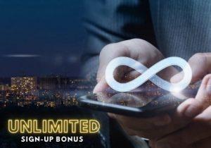 unlimited sign-up bonus